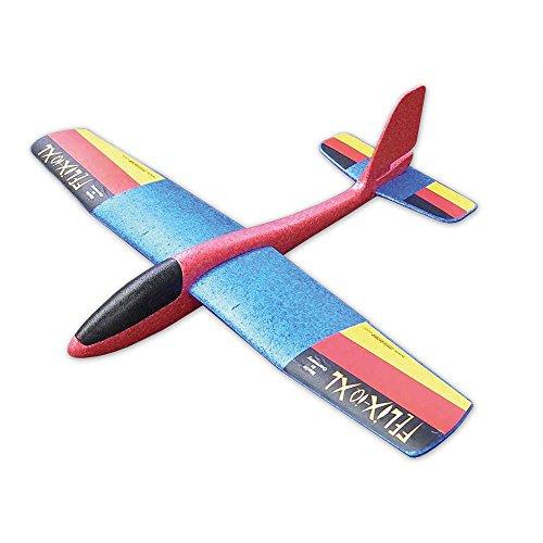 Wurfgleiter Felix-IQ ' XL - The Big One ' - Looping & Gleitflug - Qualität 100% Made in Germany - Farblich Sortiert