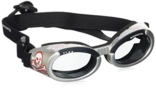 Doggles Dog Goggles ILS With Skull Crossbones/...