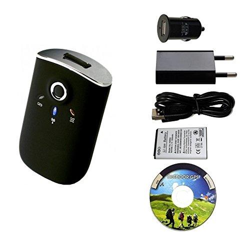 GT de 750fl Bluetooth GPS,–Registrador de datos USB GPS Receptor, foto Tagger Tracker