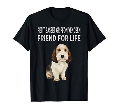 Grifón Vandeano Basset Pequeño Amigo Por Vida Amor Perro Camiseta