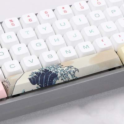 Spacebar Keycap 5-seitig gefärbtes PBT Cherry Profil DIY Keycap 6.25U 6.25X für Gaming Mechanische Tastaturwellen