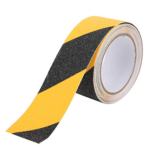 Cintas de advertencia, cinta antideslizante de usos amplios Impermeable Resistencia a altas temperaturas para escaleras de incendios para varias personas para rampas escalonadas