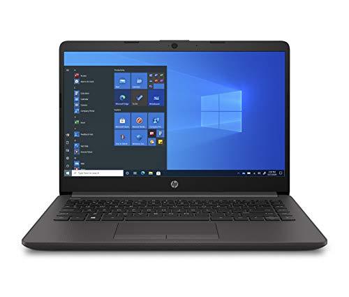 "HP - PC 240 G8 Notebook, Intel Core i7-1065G7, RAM 8GB, SSD 256GB, Scheda grafica UHD Intel, Windows 10 Pro, Schermo 14"" FHD IPS NTSC Antiriflesso, Fotocamera HD 720p, lettore SD, USB Type-C, Argento"