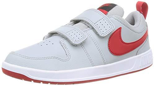 Nike Pico 5 (PSV), Chaussure de Tennis, Gris Lt Smoke Grey Univ Red DK Smoke Grey White, 33 EU
