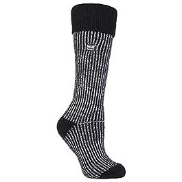 Heat Holders – Ladies Winter Thermal Boot Socks in 4 colours 4-8 UK 37-42 eur