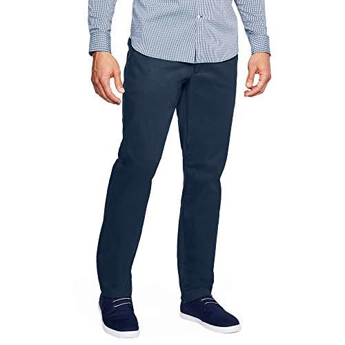 Under Armour Pantalón de algodón Showdown Chino Takeover para Hombre, Hombre, Pantalón de algodón para Hombre, 1306325, Academia (408)/Academia, 30W / 30L