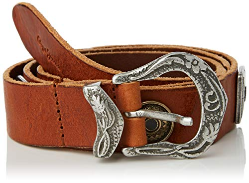 Pepe Jeans Ashley Belt Cinturón, Marrón (869), Medium para Mujer