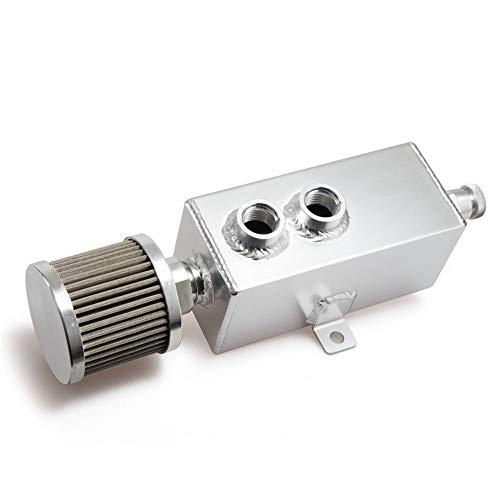 YUXINXIN - Olla de aceite de motor transpirable para modificación de coche, tubo de escape de aceite modificado, maceta transpirable de 1 l