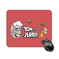 トムとジェリー マウスパッド 小型 ラバー 便利 防水 耐久性 DANESI 滑り止め オフィス/ゲーム用 おしゃれ 可愛い キャラクター