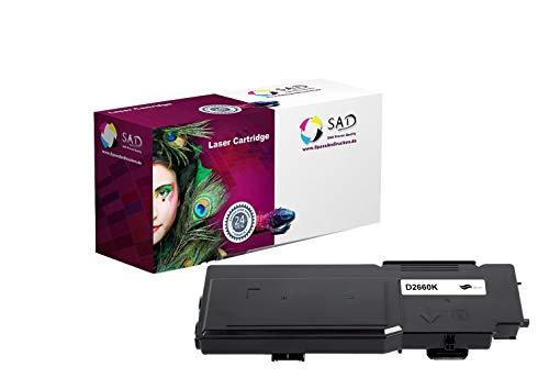 SAD Premium Toner Compatible with 593-BBBU for Dell C2660DN / C2665DNF Black