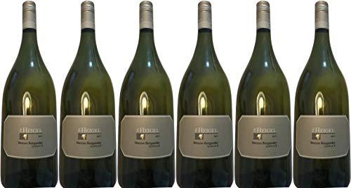 """6x Weißburgunder Spätlese""""S"""" 2011 - Weingut Dr. Heigel, Franken - Weißwein"""