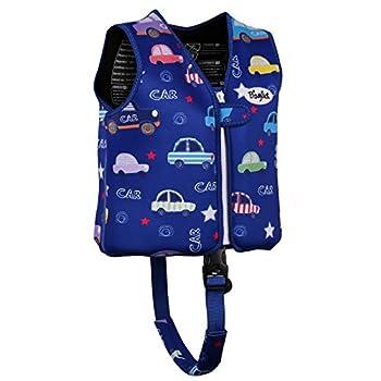 Boglia Kids Swim Vest Floaties for Toddlers Kid swimjacket Floation Swimsuit Swimwear with Adjustable Safety Strap for Unisex Children