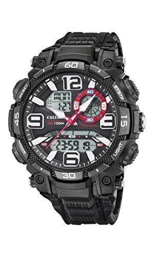 Calypso Reloj Analógico-Digital para Hombres de Cuarzo con Correa en plástico K5793/1