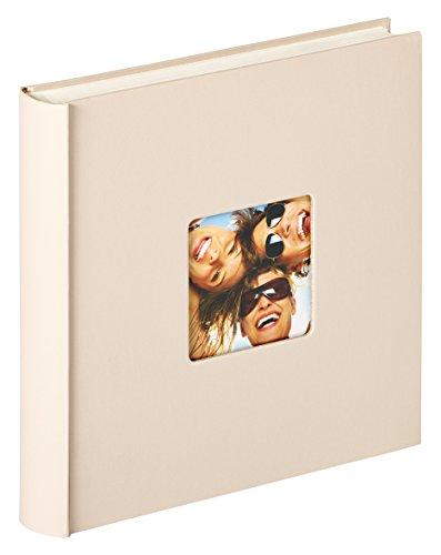 Walther Design Fun Album da Incollare, Carta, Beige (Sabbia), 30 x 30 cm