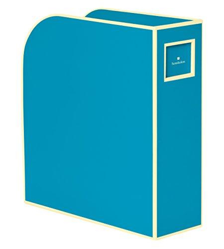 Semikolon (352752) Stehsammler A4 turquoise (türkis) - Zeitschriften-Sammler und Dokumenten-Ordner - Für A4 - Format: 10,5 × 26,0 × 31,0 cm