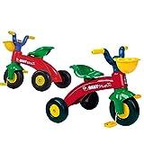 INJUSA Max Triciclo Trico Con Cesta Delantera, color rojo/verde, 12m+ (350)