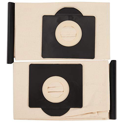 GGBEST Bolsas de Filtro Lavables de 2 Piezas para Bolsa de Aspiradora Karcher WD3 Rremium WD3200 SE4001 WD3300 Wd2 4000 MV3