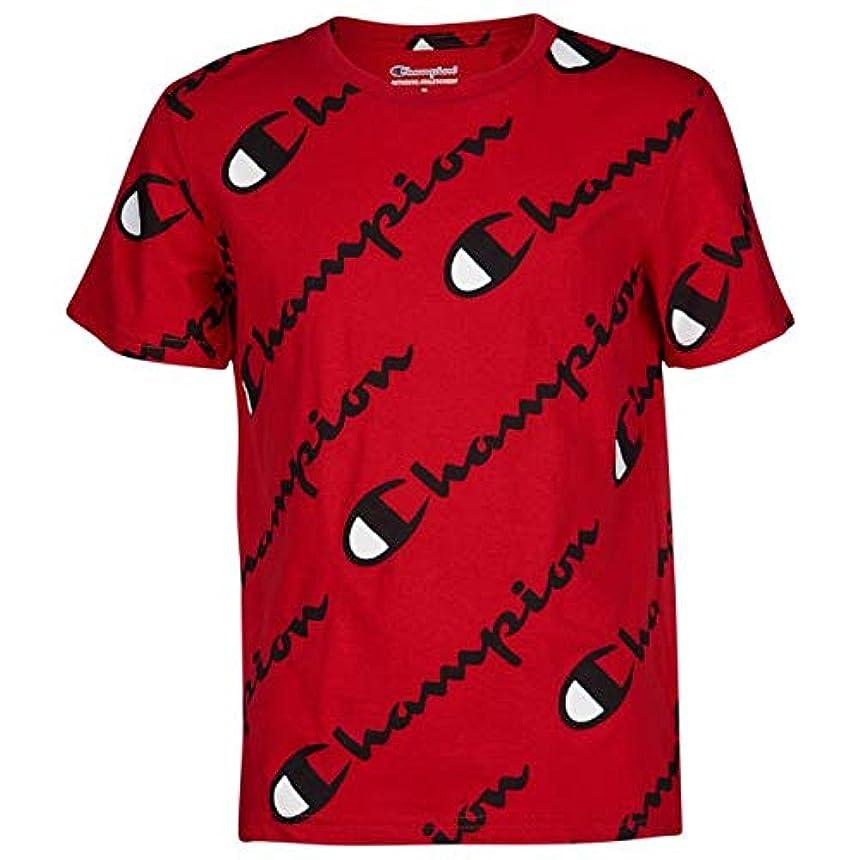バンドル定義する戦士(チャンピオン)Champion Exploded Script T-Shirt ボーイズ?子供 Tシャツ [並行輸入品]