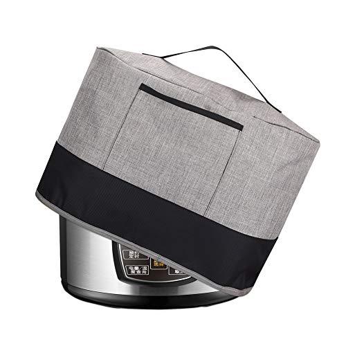 3,5 Qt Slow Cooker Staubschutz für langsames Kochen, Anti-Öl, Abdeckung für ovale und runde Pfannentöpfe, Reiskocher mit Tasche und Griff, Oxford-Stoff für kleine Geräte (passend für 3,5 QT Topf)