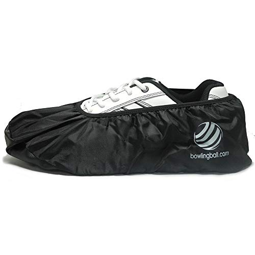 bowlingball.com Premium Bowling Shoe Protector Covers (Small (Up to Womens 5.5), Black)