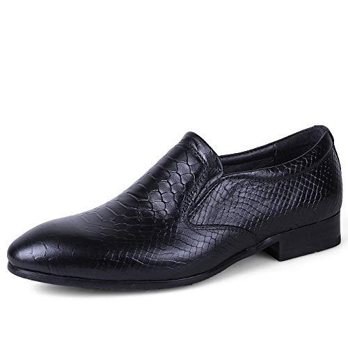 Dundun-shoes 2018 Business Oxford-schoenen voor mannen, willekeurige nieuwe soort, eenvoudige klassieke Britse mode ademen formele schoenen