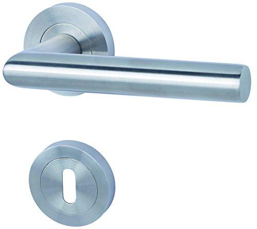 Alpertec 88024900 Edelstahl Doha-R für Zimmertüren Drückergarnitur Türdrücker Türbeschläge Neu