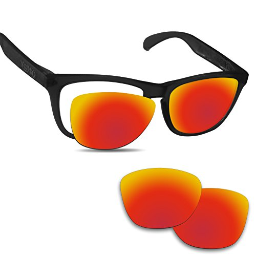 Oakley Frogskins交換用レンズ ミラーコーティング OO9013 オークリー フロッグスキン 偏光レンズ