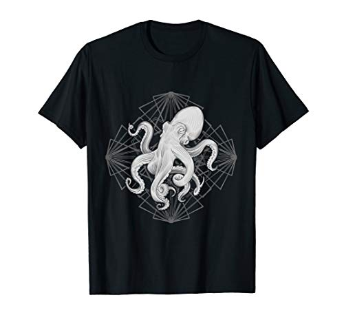 Ocean Sea Animal Kraken Sea Predator Gift Octopus T-Shirt