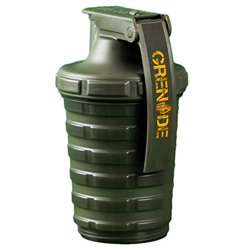 Grenade Shaker with Grenade Capsule Storage Facility, Army Green