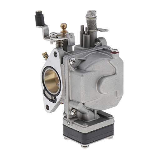 Generic Carburador grupo n.º 6L2 14301 para motores fueraborda 2T 20 CV 25 CV