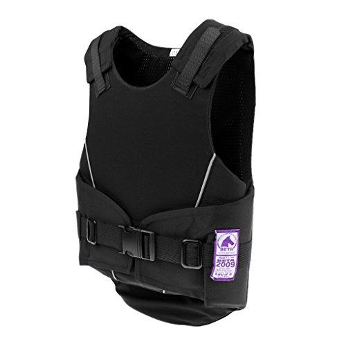 F Fityle Kinder Reiten Schutzausrüstung Reitschutzweste Bodyprotector Reiter Schutz Sicherheitsweste Körperschutz und Protektor - S