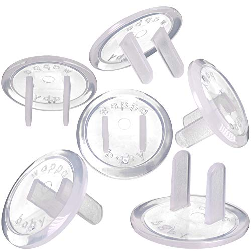 Clear Outlet Covers (50 Pack) Value Pack – Baby Safety Outlet Plug Covers – Durable & Steady – Child Proof Your Outlets Easily
