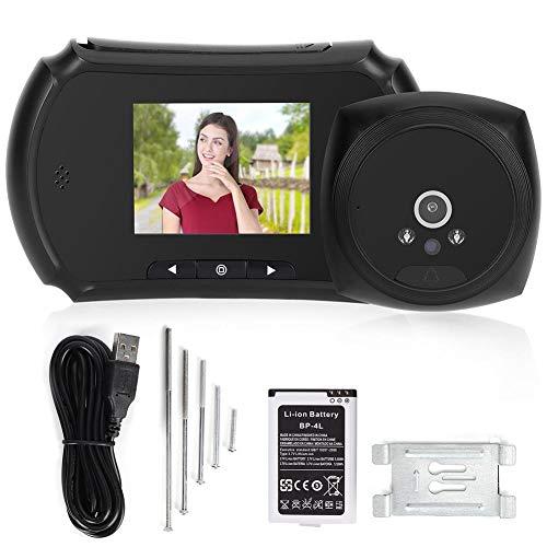 Visor de puerta electrónico Visor de puerta electrónico LCD de 3 pulgadas Cámara de visión nocturna por infrarrojos con función de identificación inteligente