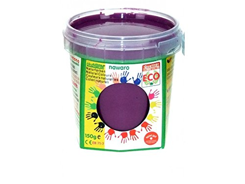 Unbekannt ökoNORM Fingerfarbe eco Princess aus nachwachsenden Rohstoffen, 150g | rosa, pink, violett, türkis (violett)