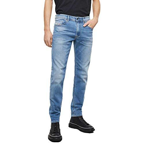 Diesel Thommer-x L.32 Jeans, Light Blue 9mn, 34W / 32L Uomo