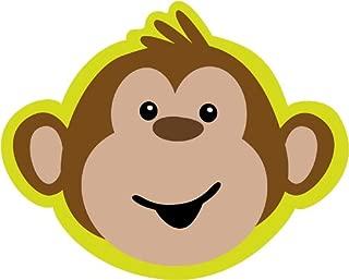 8-Count Party Invitations, Monkeyin' Around Birthday