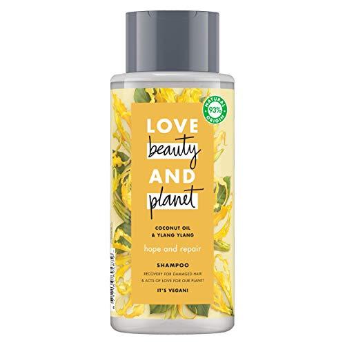 Love Beauty and Planet Hope and Repair Shampoo Kokosöl und Ylang Ylang – 400 ml