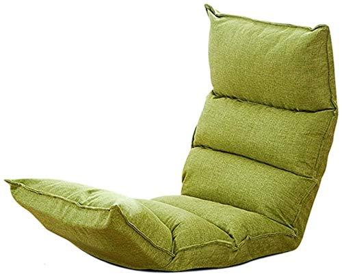 HPLL silla plegable de camping plegable Balcony Bay Window Floor Chair/Simple sofá...