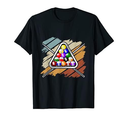 Billard Kö Cue Queue Snooker T-Shirt