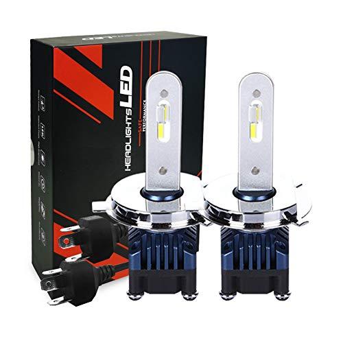 DOOK Bombillas de Faros LED H1 Luz de Coche led 25W 2600 lúmenes Conversión de Faros a Prueba de Agua súper Brillante Temperatura de Color 6000K (2 Paquete)