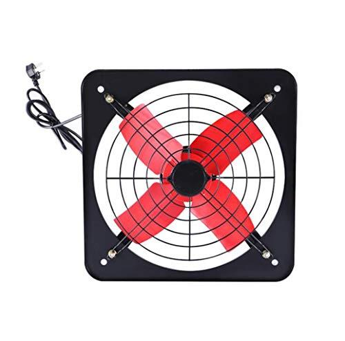 GHGJU Ventilador de Escape Ventilador de Escape Potente de 12 Pulgadas Cocina Ventilador silencioso Volumen de Aire del hogar Ventilador de ventilación Industrial