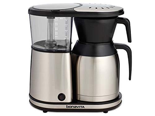 Bonavita BV1900TS 8-Cup One-Touch Coffee Maker Featuring Thermal Carafe, Stainless Steel (Renewed)