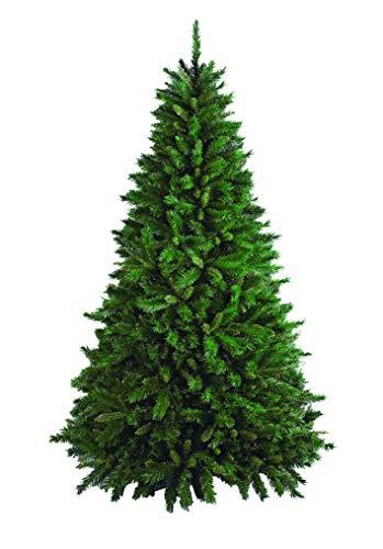 """DMORA Albero di Natale """"Riccardo"""", Altezza 180 cm, Extra folto, 723 rami, effetto Reale, verde, 110 x 110 x 180 cm"""