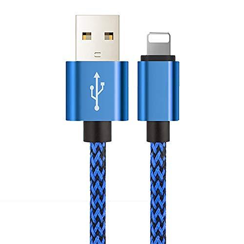 ZUEN 25Cm 1M 2M 3M Data USB Câble de Charge pour Iphone 6 S 6S 7 8 Plus X 10 XR XS Max 5 5S Se Origine Accessoire Court Long Fil,B,2M