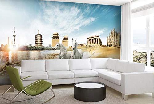 anpassen 3d fototapeten wandbilder für schlafzimmer HD Benma World Tour 3d tapeten für wohnzimmer 3d wall paper rollen, 430 * 300 cm