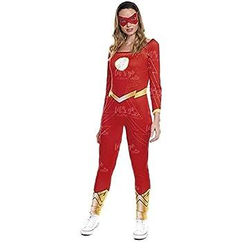 Desconocido Disfraz de Flash para mujer: Amazon.es: Juguetes y juegos