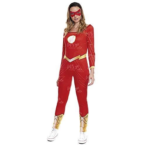 Disfraz Heroína Fugaz Mujer Disfraz Superhéroe Mujer (Talla M) (+ Tallas)