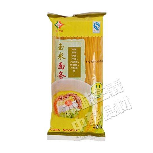 中国産 玉米麺(トウモロコシの麺) 400g