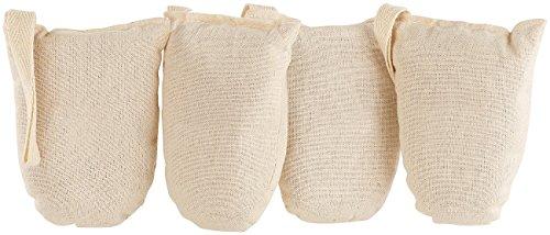 newgen medicals Deodorante per Scarpe: Deodoranti per Scarpe ecologici in Cotone e Legno di Cedro, Set di 4 (Deumidificatore per Scarpe)
