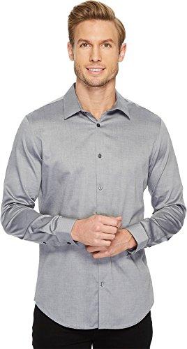 Calvin Klein Camisa de Manga Larga con Botones para Hombre